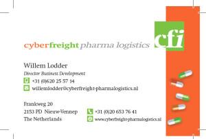 Kaartje Pharmalogistics