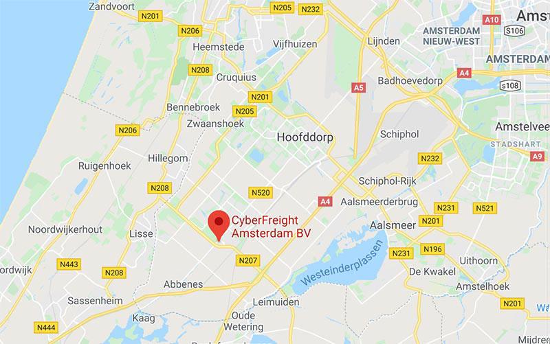 cyberfreight-amsterdam-nieuw-vennep-schiphol
