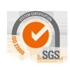 SGS ISO 22000 - cyberfreight certificaat keurmerk